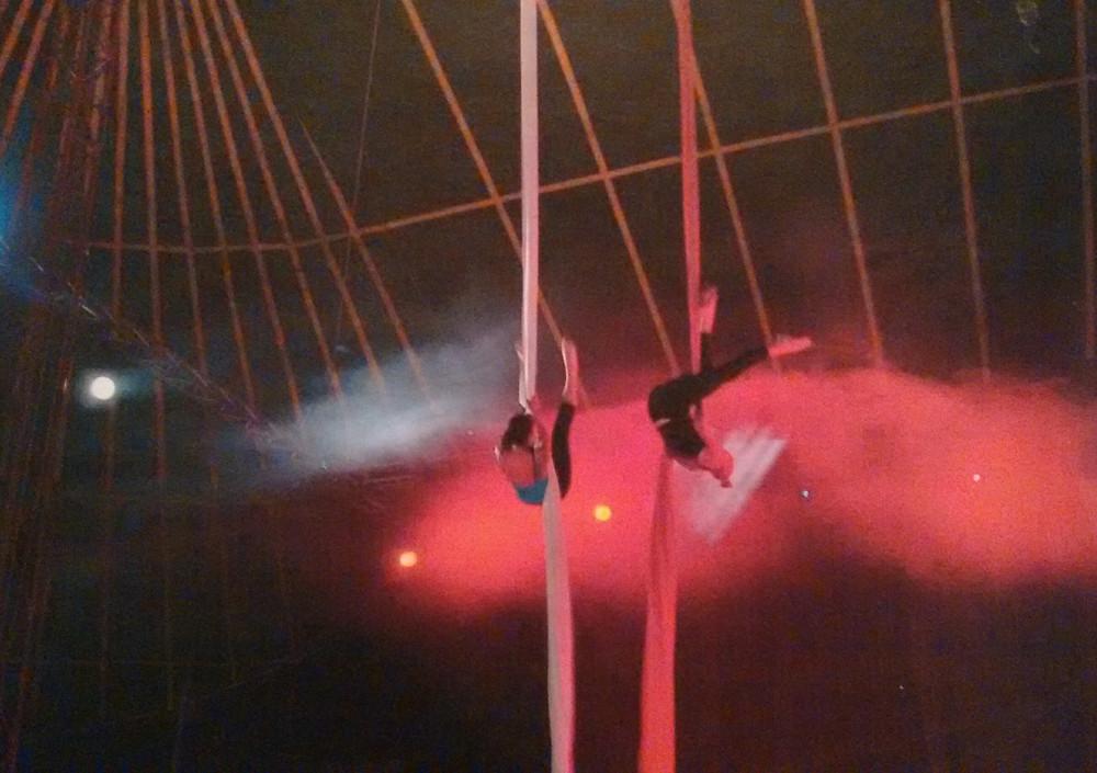 Starfiz Silks Glastonbury Festival Circus Big Top 2000