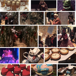 Alice in Wonderland event by Les Enfants Terribles for LUSH Spring 2016 conference party