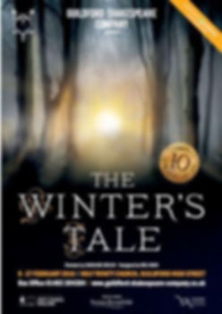 The Winters Tale by Guildford Shakespeare Company 2016 Poster