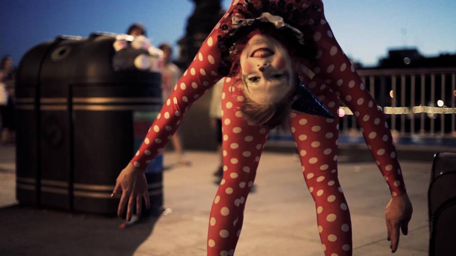 Circus Theme Contortion