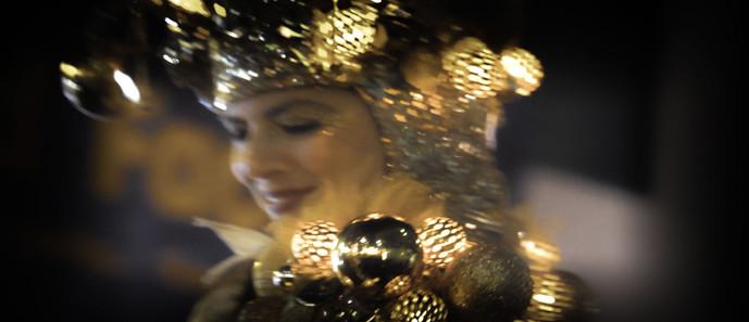 Gold Glitter Belle
