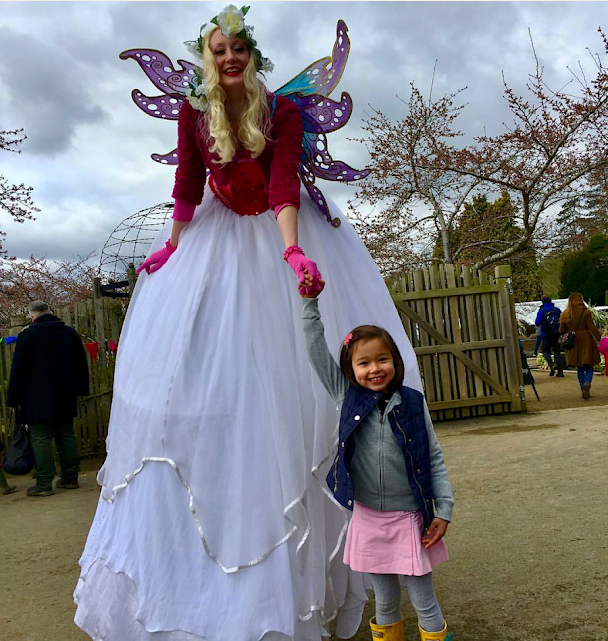 Easter Fairy at Blenheim Palace 2018 Katie Hardwick
