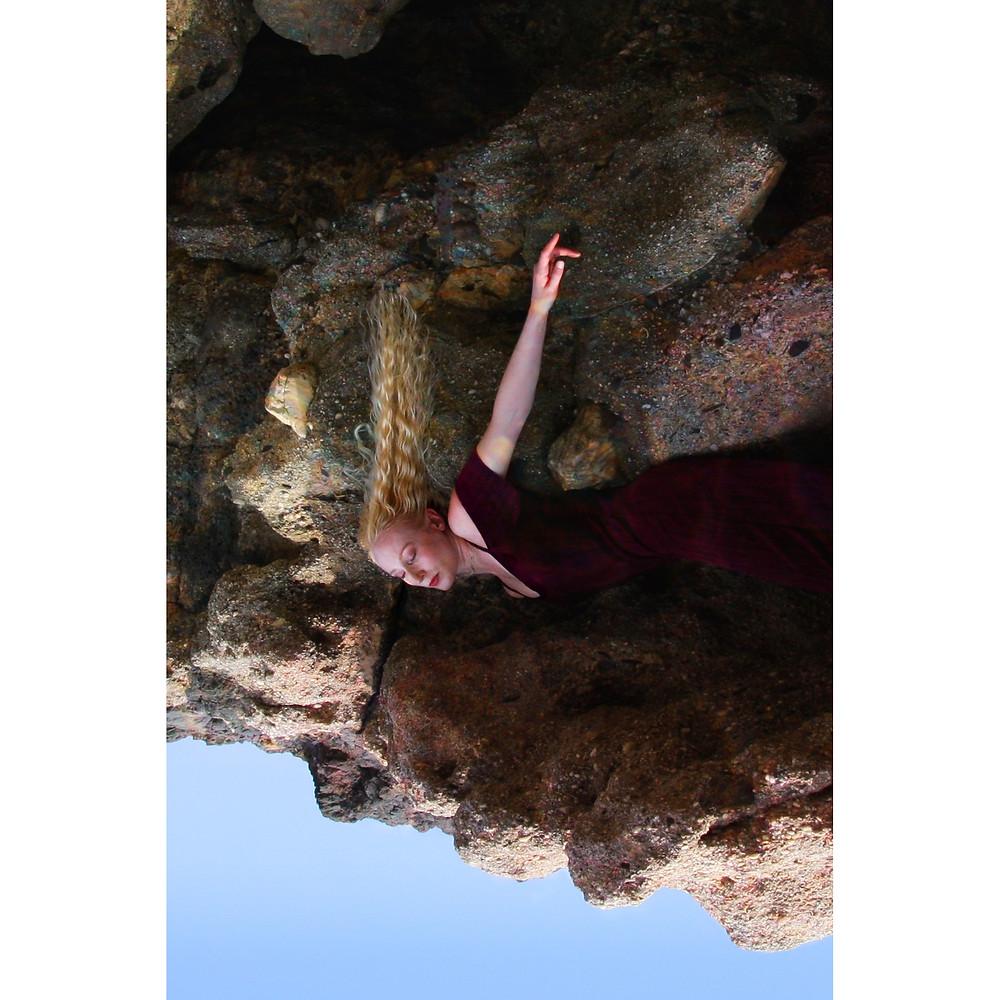 On the Rocks by Rosie Hardwick model Katie Hardwick