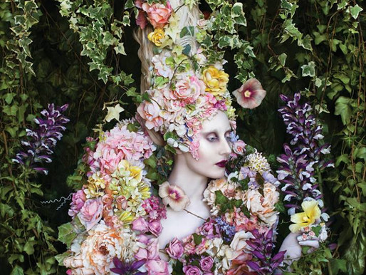 On the cover of The Picture Professional with Kirsty Mitchell's Wonderland