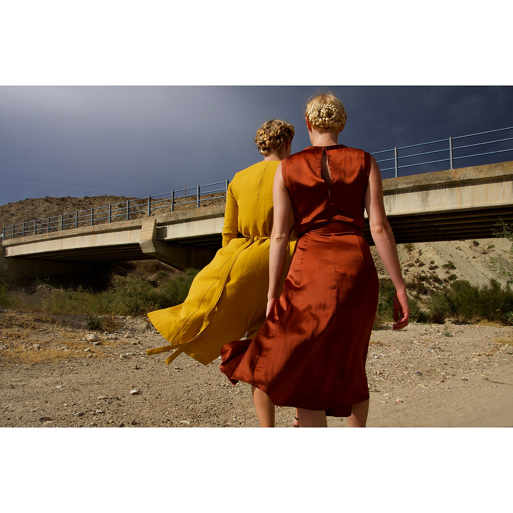 Los Giles by Rosie Hardwick models Maddy and Katie Hardwick