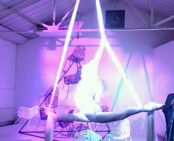 Ritual of Light silks performance by Katie Hardwick