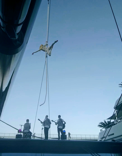 Rope Performance on a Yacht