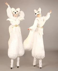 Snow Foxes