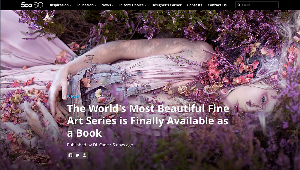 500px Wonderland Book blog article