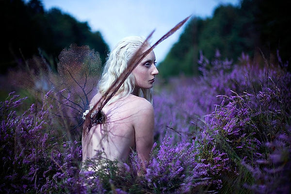 Kirsty Mitchell Wonderland Model