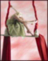 Trapeze Artist in Dress