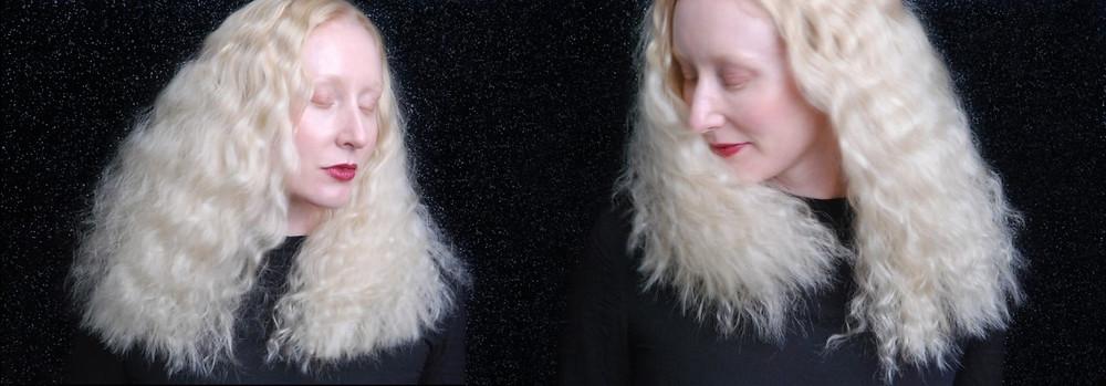 Hair model Katie Hardwick