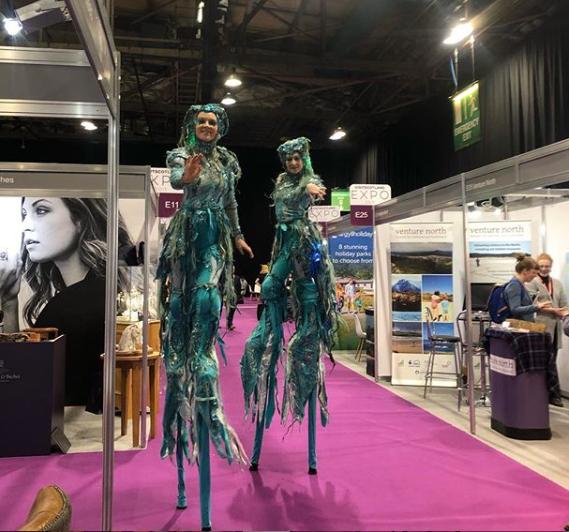 Mermaidens at Visit Scotland Expo