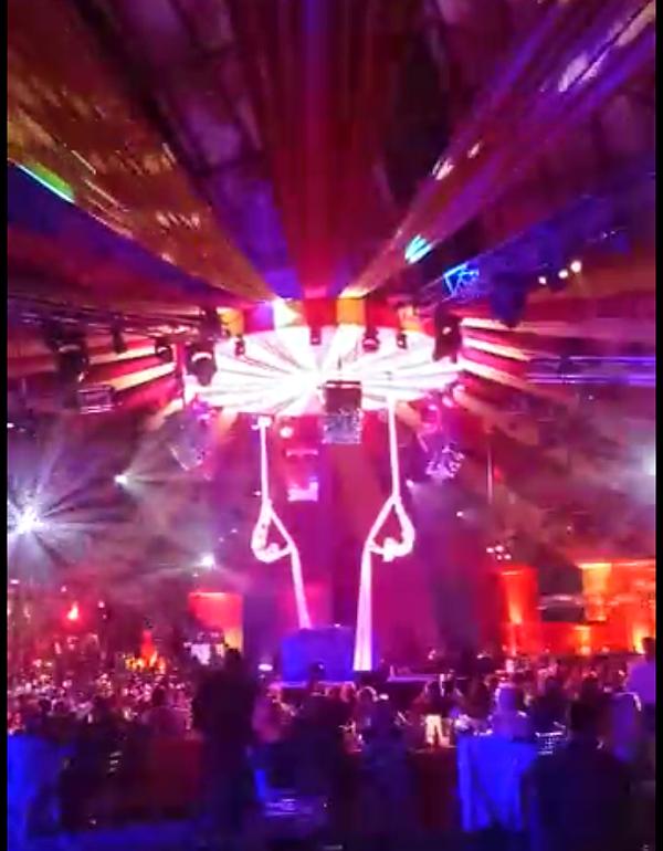 serenity silks circus theme