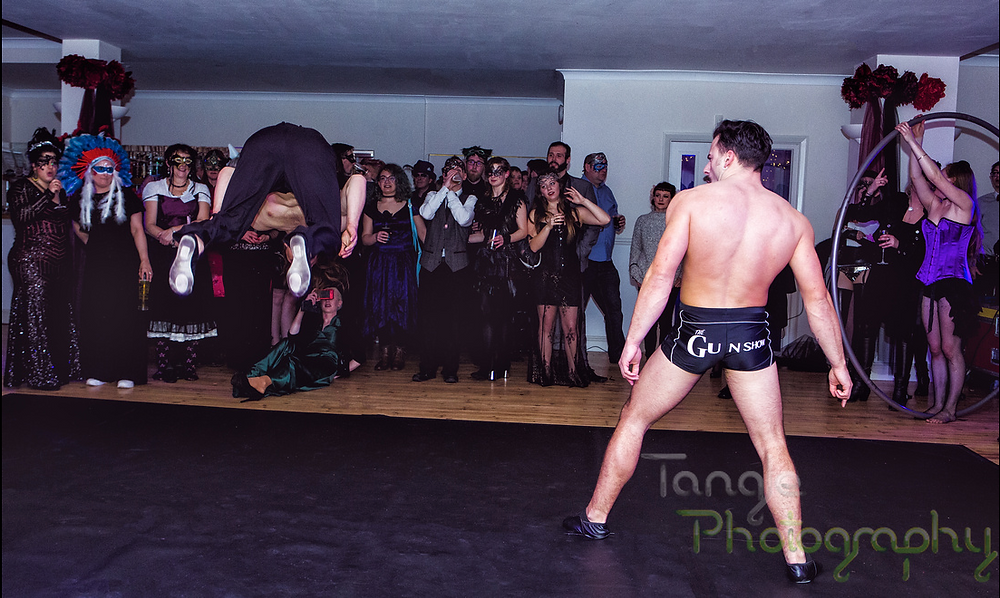 The Gun Show Acrobatics Act by Tangle Photography
