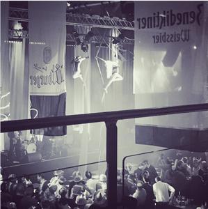 Synchronised Silks Starfiz at London Bierfest 2015