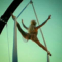 Katie Hardwick Aerial Silks Fairy Act