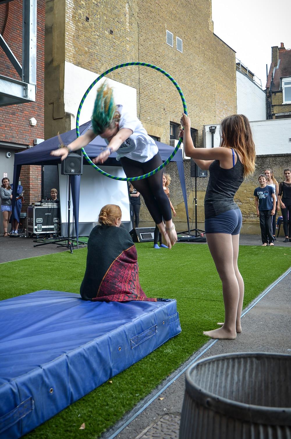 Circus Suburbia Youth Circus Acrobatics