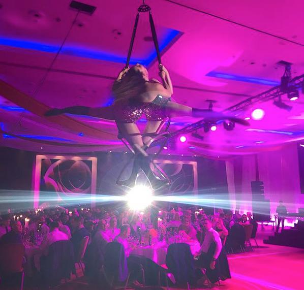 Starfiz Aerial Sphere Circus Act