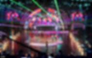 Silks performers in television studios