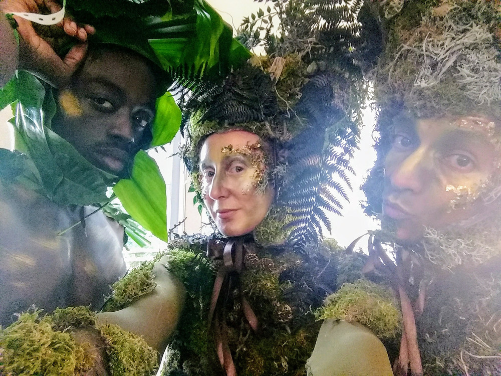 Woodland themed event entertainment