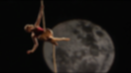 Classical rope act jazz waltz red costume