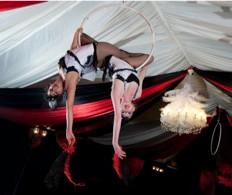 Starfiz aerial hoop Christmas Moulin Rouge