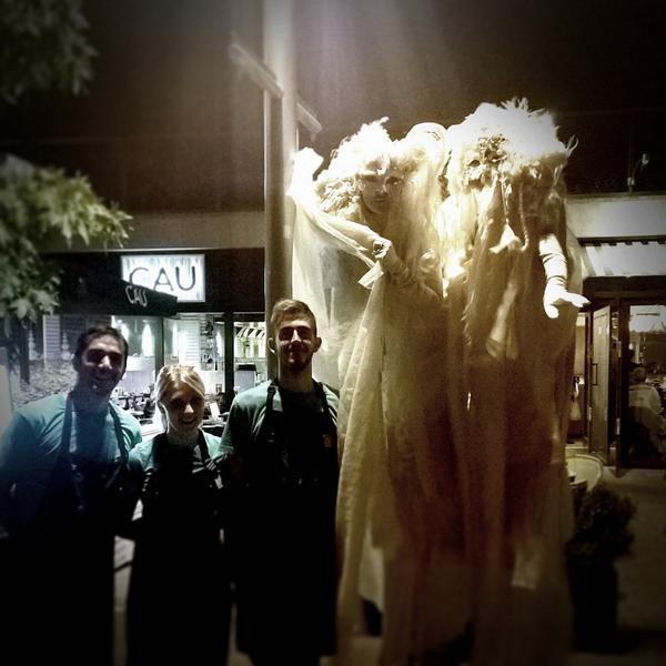 Stilt Ghosts with CAU Kingston