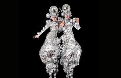 Silver Glitter Belles