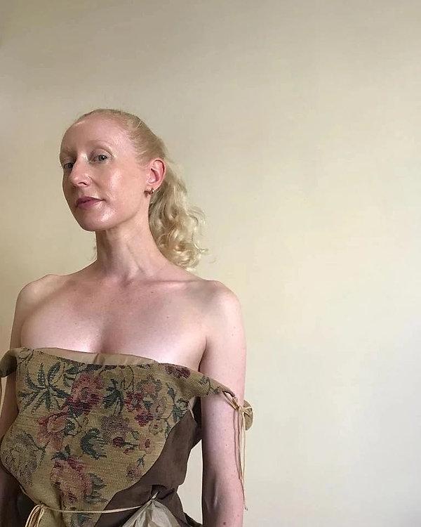 Gyouree Kim Corset modelled by Katie Hardwick