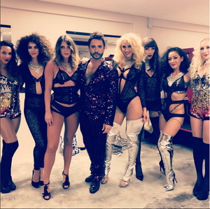 Backstage with Le Bouge Neon Show