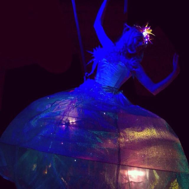 Katie Hardwick aerial dance