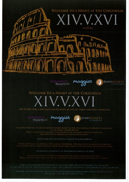A Night At The Colosseum Poster