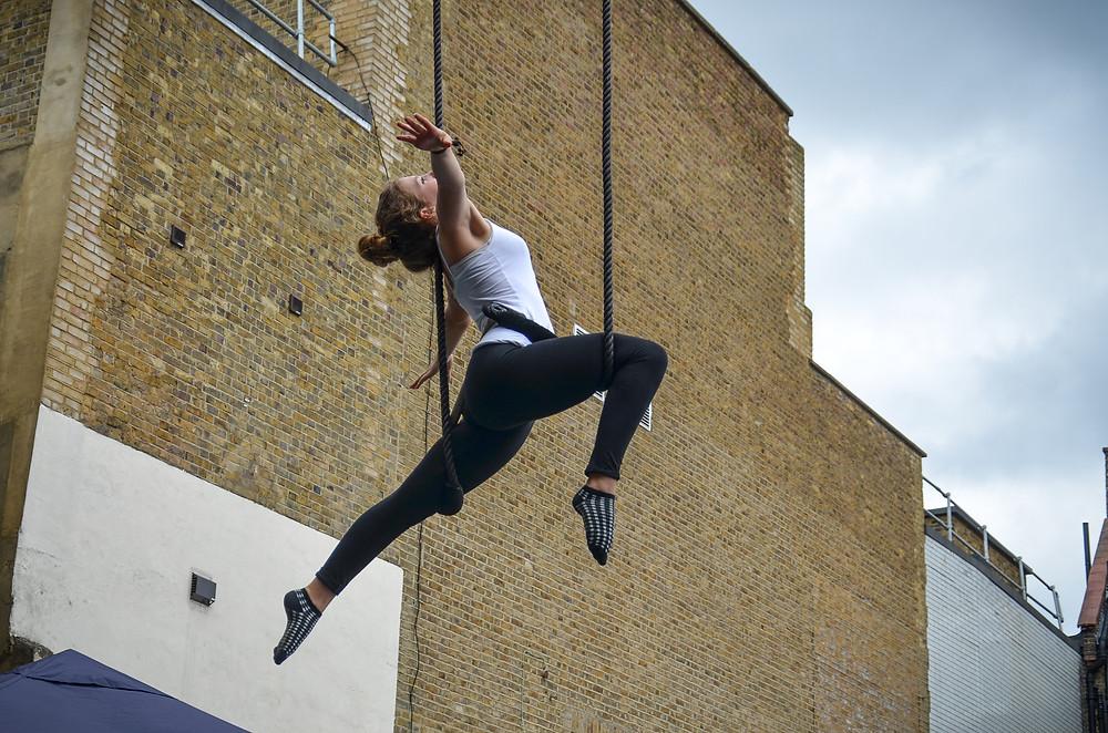 Circus Suburbia Youth Circus Kingston London Trapeze Performance