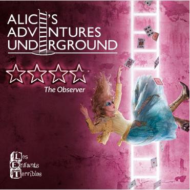 Alice's Adventures Underground Poster