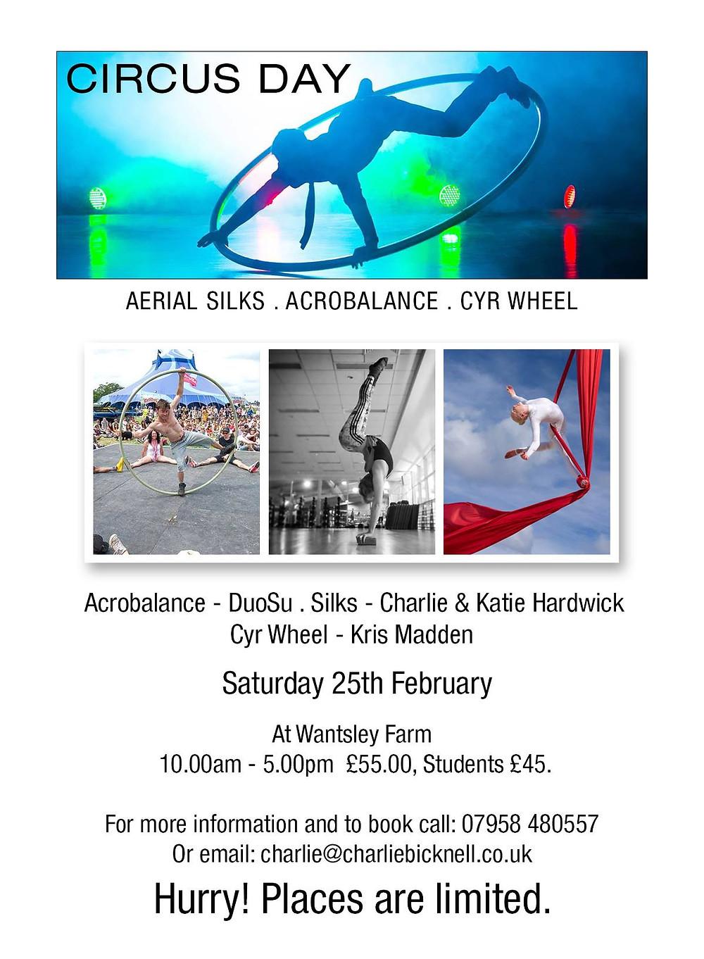 Wantsley Farm Circus Day February 2017