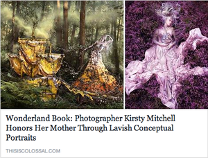 Wonderland Book features on This Is Colossal