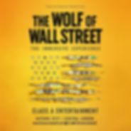 Wolf of Wall Street Immersive poster