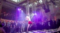 Katie Hardwick performing at London Bierfest in Lederhosen