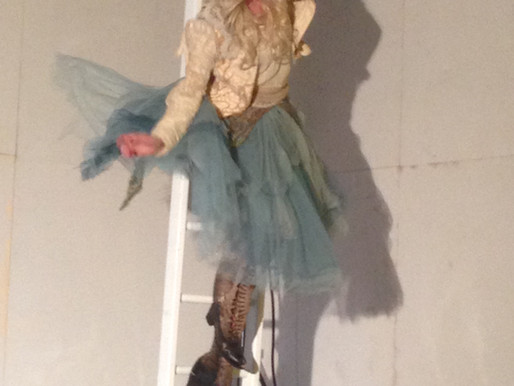 Harness photo shoot as Alice with Les Enfants Terribles