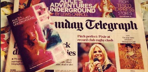 Alice Underground Telegraph Book Cover