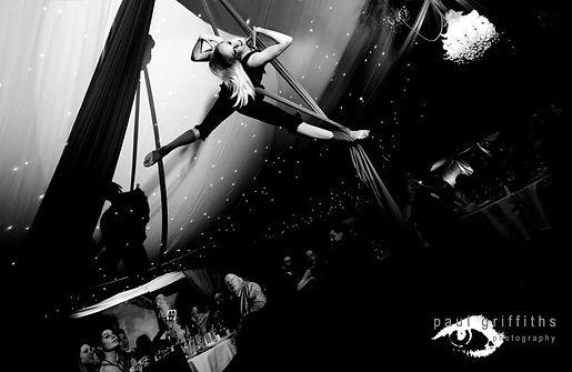 Moulin Rouge Silks Act by Katie Hardwick
