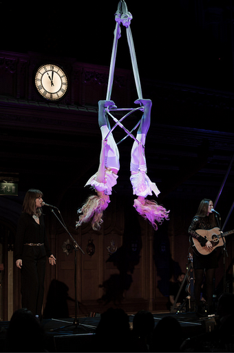 The Staves with Starfiz Aerial Sphere