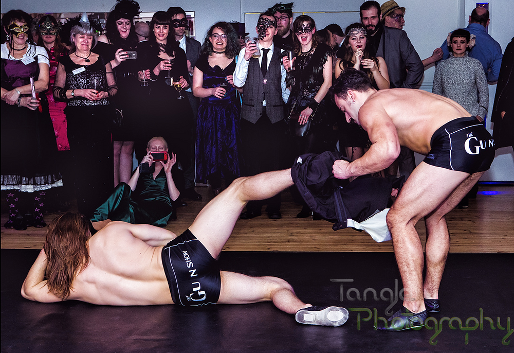 The Gun Show Acrobatic Male Stripper Show