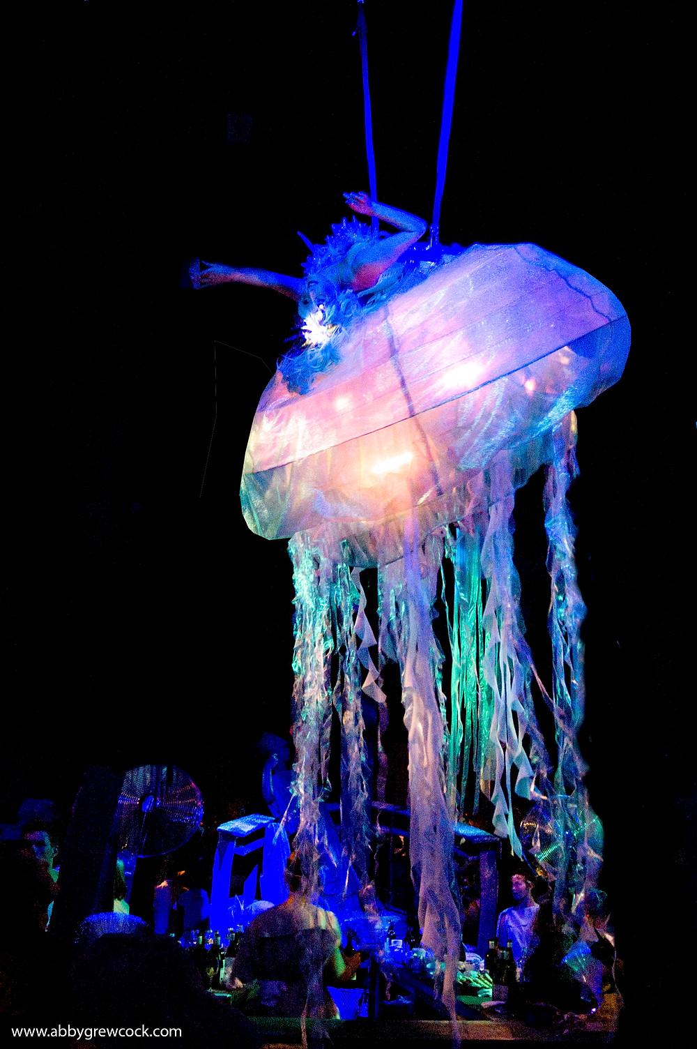 Desiree as a Viva aerial Jellyfish
