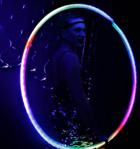 LED Hula Hoop Roaring Twenties
