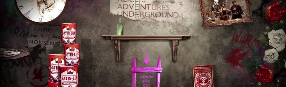 Alice Underground Website Animation