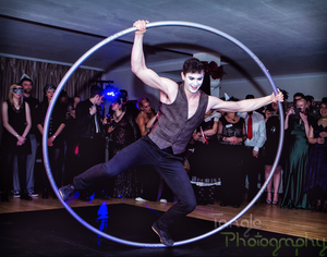 Mike Cyr Wheel Act by Tangle Photography