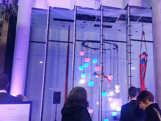 Aerial Installation for The Wellcome Trust