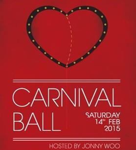 Showzam Carnival Ball 2015 poster